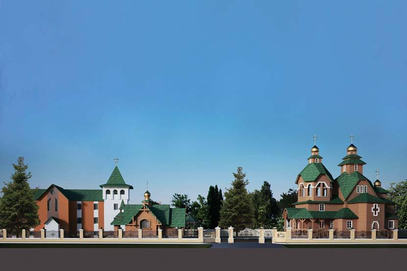 Храм в Нежине